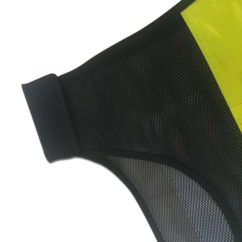 Workplace Safety Supplies Pvc Reflective Tape Safety Reflective Vest Highways Sanitation Reflective Mesh Vests