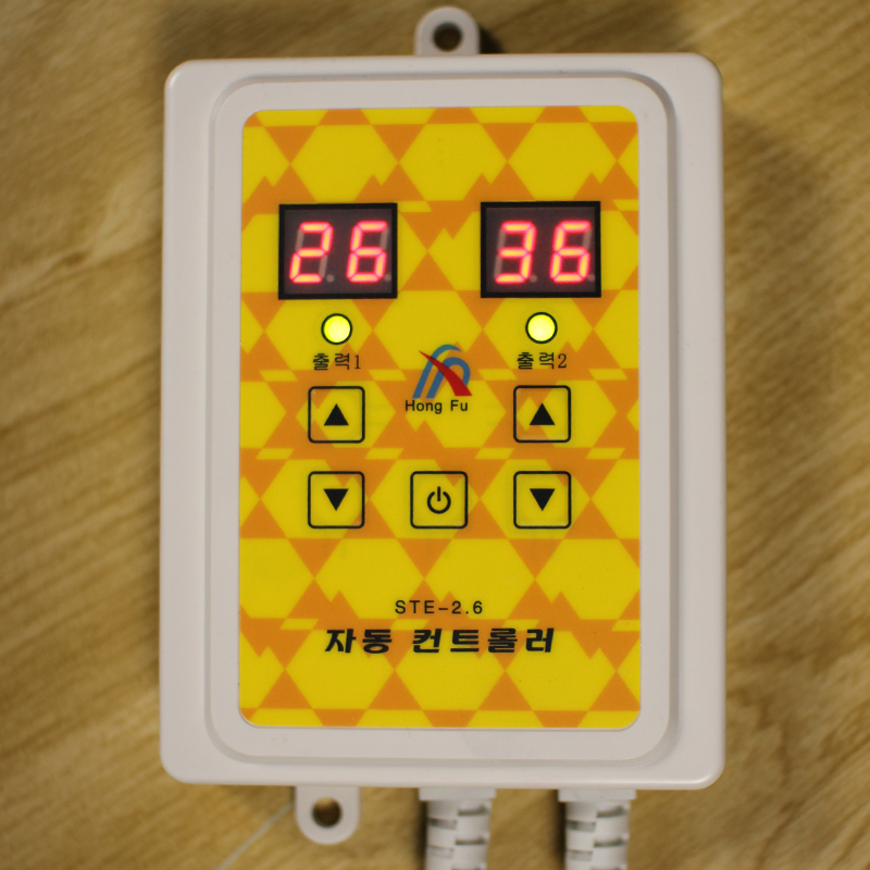 Heating plate electric film thermostat thermostat mute silent electric heating kang kang electric digital thermostat