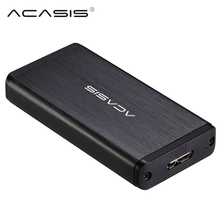Acasis 1.8″ inch USB 3.0 mSATA External Hard Disk Drive SSD msata Enclosure Case Box SSD mSATA Reader Adapter mSATA To USB3.0