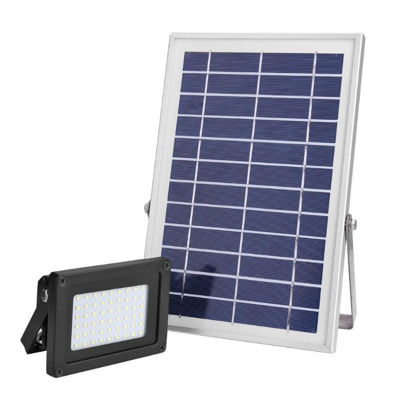 Светодио дный светодиодный свет солнечной энергии 10 Вт 54 светодио дный светодиодный свет датчик наводнение точечная лампа водостойкий Отк...