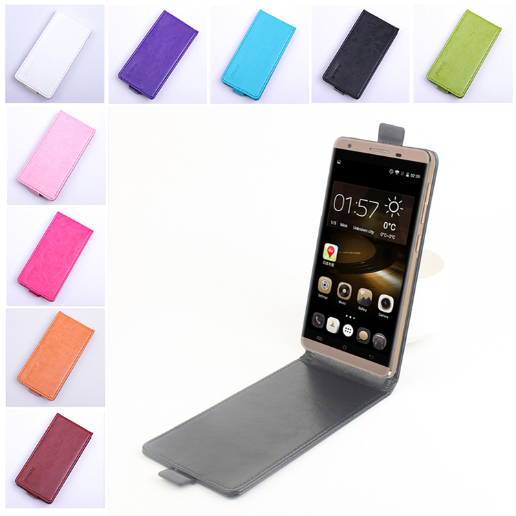 Fashion 9 Colors Phone Case for Cubot X15 Flip Leather Cover Case Vertical Back Cover Open Up and Down Magnetic Protective Shell