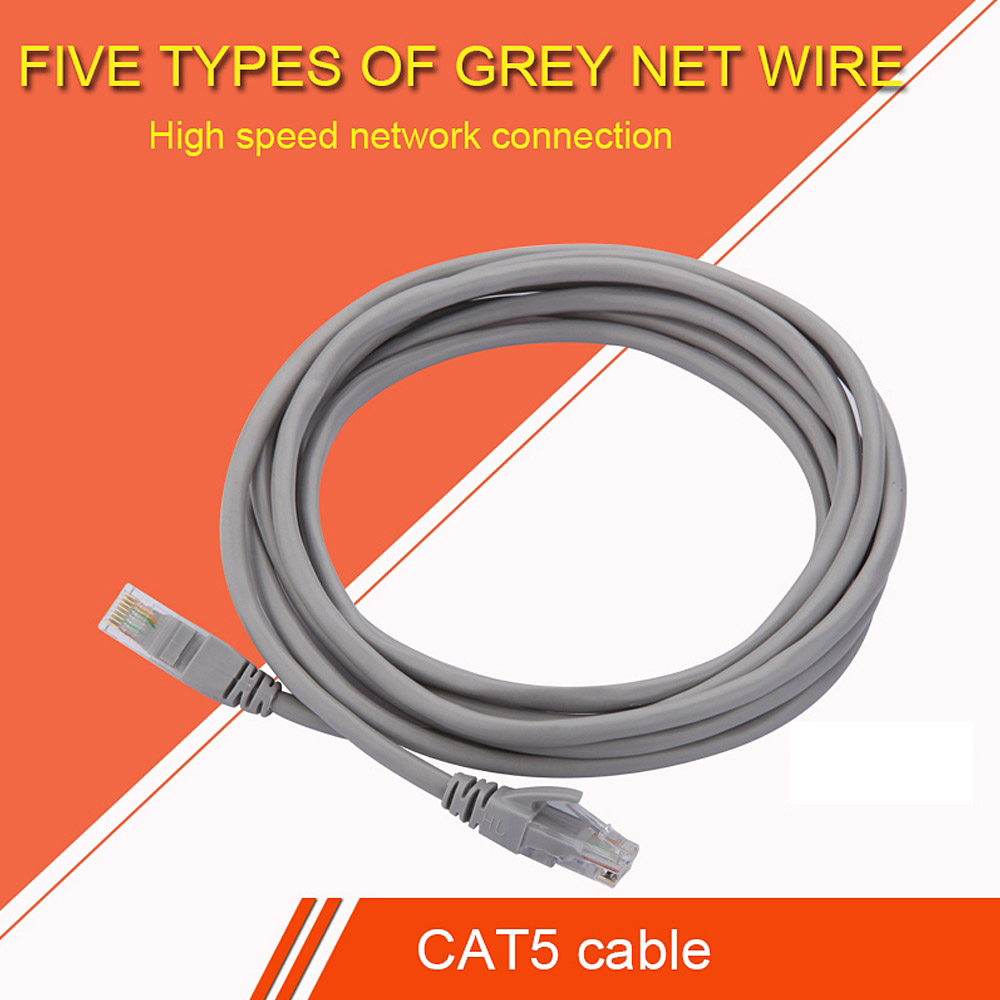 Cat5 rj45 Ethernet Cable10m/15m/20M/25MNetwork Cable UTP Lan Cable Cat 5 RJ45 Patch Cord for Router Laptop PS2 PC Computer ethernet cable