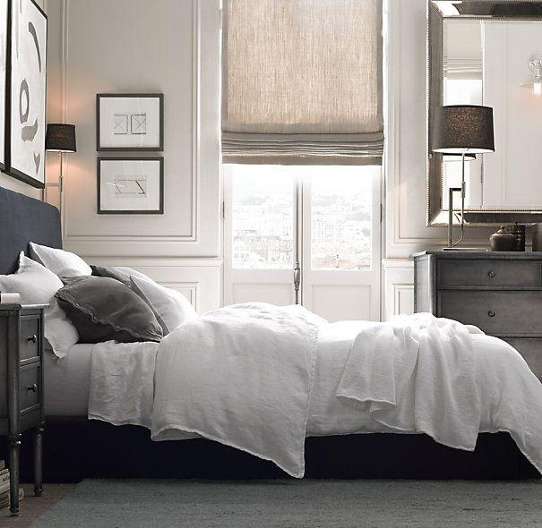 Pure Linen Sheet Set Soft Cool Summer 4 Pcs Bedding Sets100%Linen Include  Flat Sheet Fitted Sheet Pillowcase 1.8m Bed In Bedding Sets From Home U0026  Garden On ...