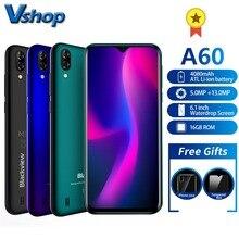 Blackview A60 Smartphone Quad Core אנדרואיד 8.1 4080mAh נייד 1GB + 16GB 6.1 אינץ 19.2: 9 מסך מצלמה כפולה 3G נייד טלפון