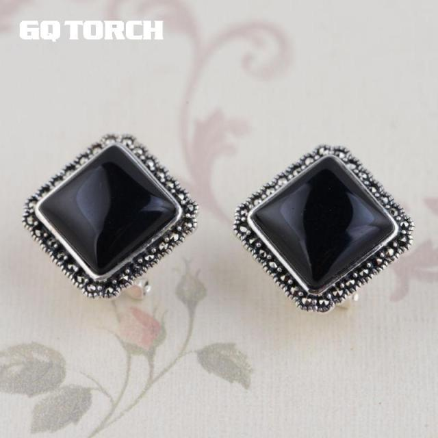 tassel shaped square wholesale silver product earrings online
