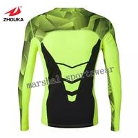 Tüm fiyat, stok kalemi, Yüksek Kaliteli Elastikiyet Spor Koşu Koşu Giyim Aerobik Jimnastik kuru fit tops neon yeşil