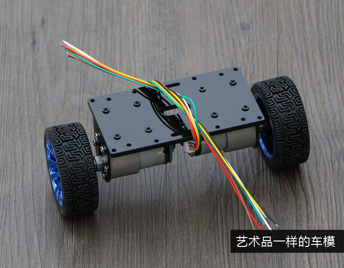 self-balancing robot car 2WD Chassis Kit large motor balanced car chassis 2 wheel drive robot chassis kit 1 deck