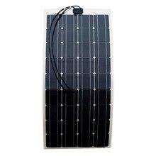 200W 2X100W mono flexible solar panel solar module energy Roof Camper RV Yacht