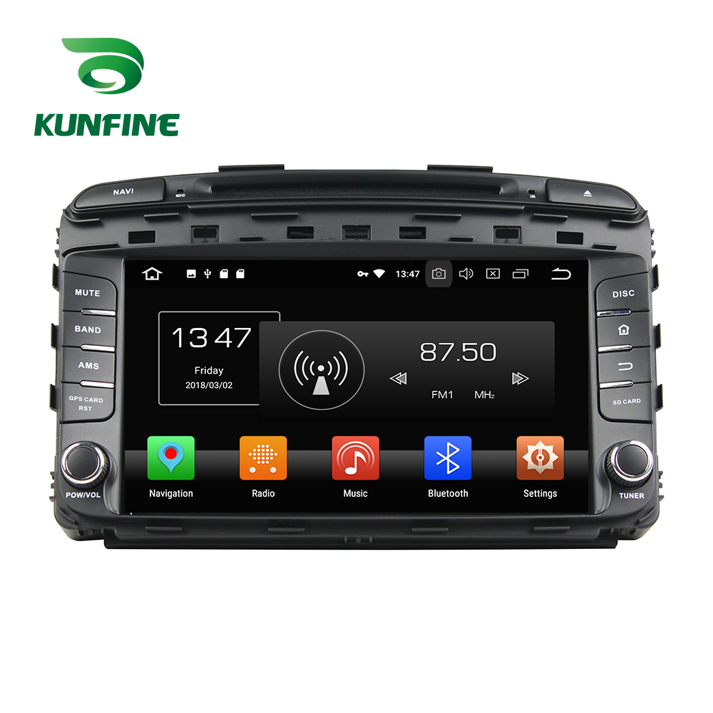 Octa Núcleo 4 gb de RAM Android 8.0 Car DVD GPS Navigation Multimedia Player Do Carro de Som para KIA SORENTO Rádio 2015 unidade central WIFI 3g