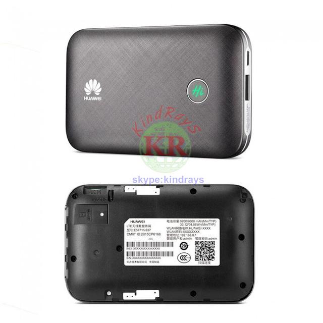 Unlocked Huawei E5771 E5771h-937 Mobile Wifi Hotspot – 9600mAh Power Bank 4G LTE MIFI Modem