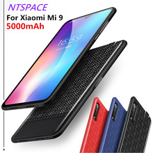 5000mAh Extended Phone Battery Power Case For Xiaomi Mi 9 Extenal Charger Cases Back Clip Charging Cover