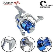 Yumoshi 5.5:1 1000-7000 10BB Fishing Reel Spinning Reels Carp china equipment Carretilha de pesca molinete shimano