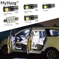 Đối với BMW X1 F48 Tiện Lợi Bulbs Xe Led Nội Thất Ánh Sáng C10W Bóng Đèn thay thế Dome Bản Đồ Đèn Sáng Bright Trắng 12 Mỗi CÁI b