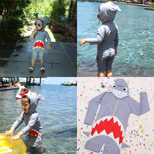 Bikini 2019 Bathing Suits for Kids One Piece Fashion Cartoon Boys Girls Swimming Wear Swim Suit  Baby Shark Clothes Swimsuit Buy цена