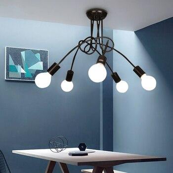 LED nordique intérieur plafonniers chambre plafonnier Restaurant luminaires maison Post-moderne nouveauté salon plafond éclairage