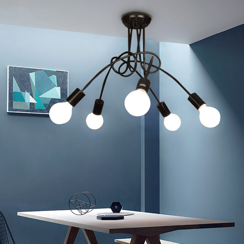 Nordic LED Indoor Ceiling lamps Bedroom Ceiling Light Restaurant Fixtures home Post-Modern Novelty Living room Ceiling lighting led ceiling lighting indoor bedroom ceiling lamps fixtures home modern american country style living room ceiling lights