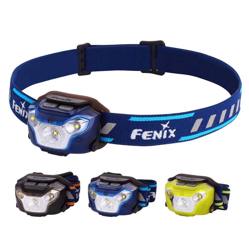 Fenix HL26R 450 Lumen Lightweight Rechargeable Multi-LED Headlamp Built-in 1600mAh Li-polymer battery maxell er17 33 non rechargeable 3 5v 1600mah battery
