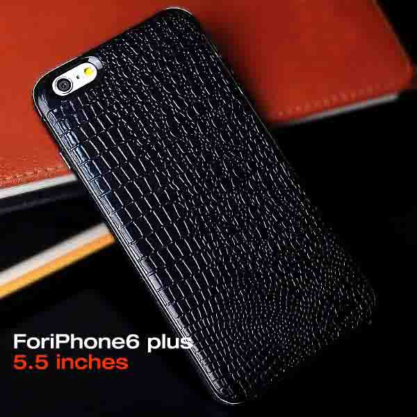 iphone 6 Plus Luxury Genuine Leather Case,Soft Skin Protective Back Phone Bag Case Cover iphone6 5.5 inch - NKOBEE OfficialFlagship Store store