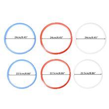 1 шт. Силиконовое уплотнительное кольцо 6/8 кварта для мгновенного кастрюли электрическая скороварка Запчасти 3 цвета