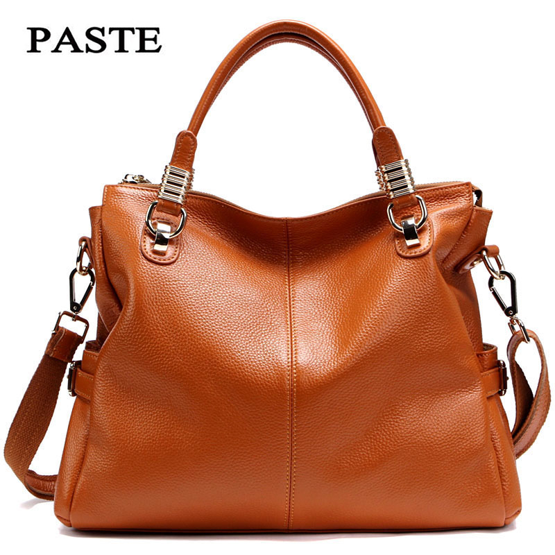 High Quality Shoulder Bags Handbags Women Famous Brands Genuine Leather Fashion Ladies Large Tote Bags Messenger