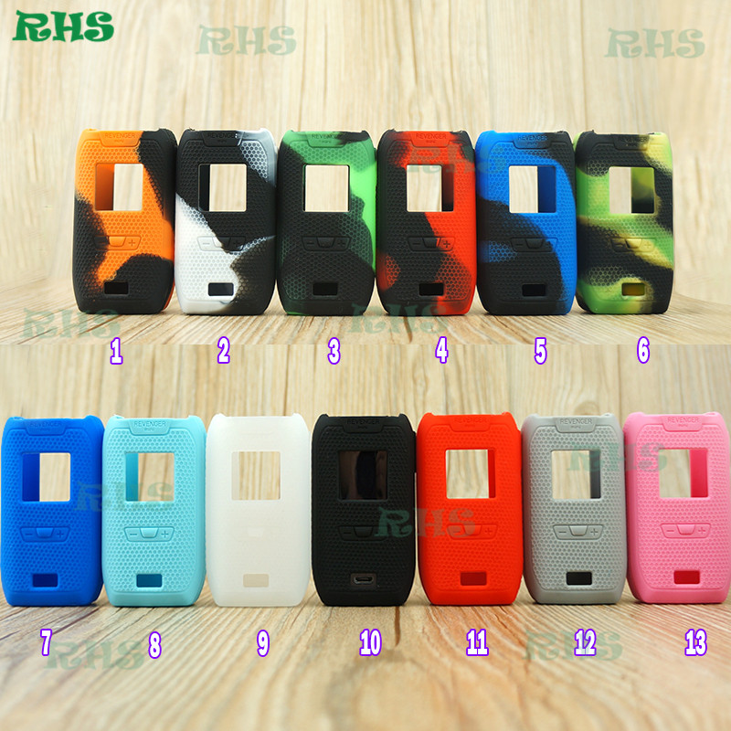 20pcs lot RHS Wholesale price Silicone protective Case Cover Bag of Vaporesso Revenger Mini 85W Kit