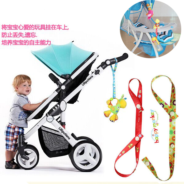 Mother & Kids Activity & Gear 5pc/ Lot New Arriving Hot 100% Cotton Brand New Baby Stroller Toys Anti-lost Strap Baby Stroller Rope Accessories Free Shipping Great Varieties
