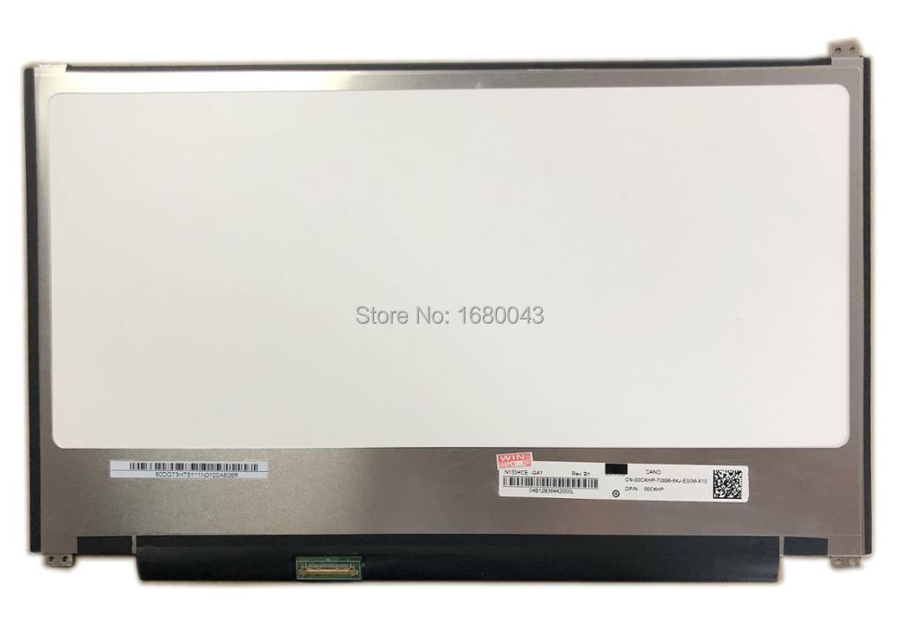 N133HCE-GA1 Rev B1 fit N133HCE GA1 13.3 Slim 30 PIN eDP 1920X1080 up+down screw holes LED LCD SCREEN IPS free shipping b125xtn02 0 lp125wh2 tpb1 hb125wx1 201 for dell e7240 e7250 lcd screen edp 768 30 pin left right 3 screw holes