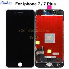 100% oryginalny OEM najlepsza jakość LCD pantalla dla iPhone 7 7G 7 Plus 7 P 7 + wyświetlacz LCD ekran dotykowy wymiana Digitizer zgromadzenie