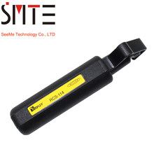 RCS114 cable stripper fiber optic tool,optical fiber Cable Jacket Slitter RCS-114 Miller Round Cable Stripper(China)