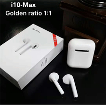 i10 Max TWS Double Earphones Mini Wireless Bluetooth 5.0 Earphones Earbuds Stereo With Charging Box For Iphone Samsung Xiaomi LG wonstart true wireless earbuds mini tws earphones bluetooth hidden invisible hifi stereo with charging box for iphone samsung