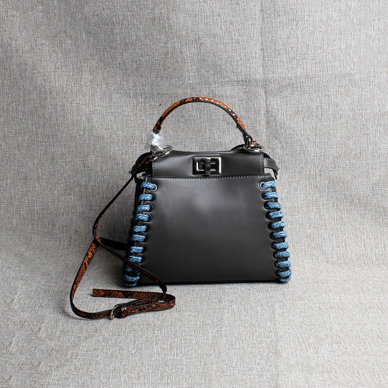 Elegant and graceful cat bag lock closure weaving women handbags Genuine Leather bag new serpentine leisure shoulder bags 2pcs ta3020 dip48 dip new and original free shipping page 8