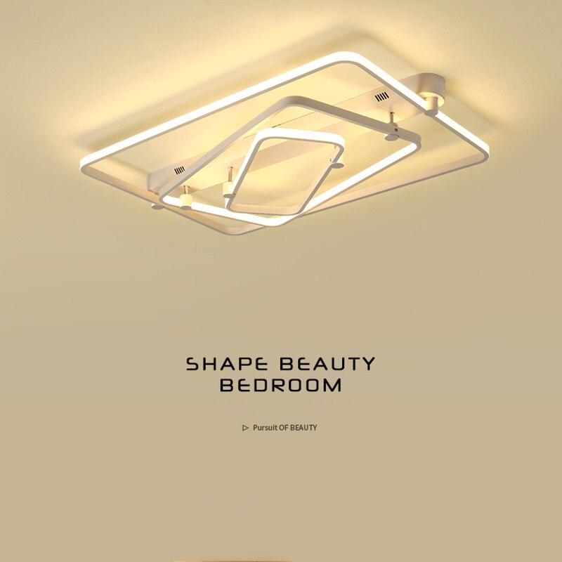 Книги по искусству деко светодиодный потолочный светильник светодиодный площадь современный минималистский Гостиная Спальня Lampara Techo Блес...