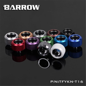 Image 3 - Barrow Hard Pipe Choice Multicolor Compression Fitting OD 12mm 14mm 16mm Rigid Tubing 12 Colors TFYKN T12 T14 T16