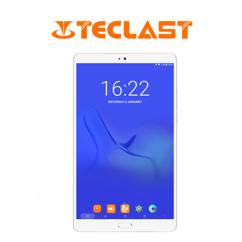Teclast T8 8.4 inch Android 7.0 Hexa Core 4G+64G Android Tablet pc WiFi Bluetooth Tablets Fingerprint Recognition планшет-in Tablets from Computer & Office