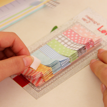 Mini Cute Kawaii Memo Pad Colourful Flower Dots Post It Note Paper Sticker For Kids Gift School Supplies