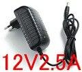 Высококачественный источник питания IC solutions, 1 шт., 12 В постоянного тока, 5,5 А, светодиодный адаптер питания 30 Вт, штепсельная вилка европейско...