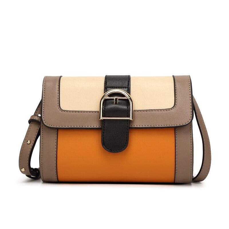 Mini Shoulder Bag Women Casual Flap Bag PU Leather Vintage Women Bolsa Messenger Bag Ladies Travel Tote Envelope Small Handbags