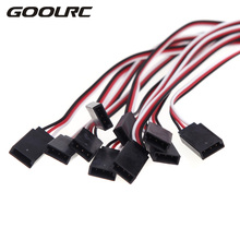 10Pcs 300mm Servo Extension Lead Wire Cable for JR Servo RC Car Helicopter font b Drone