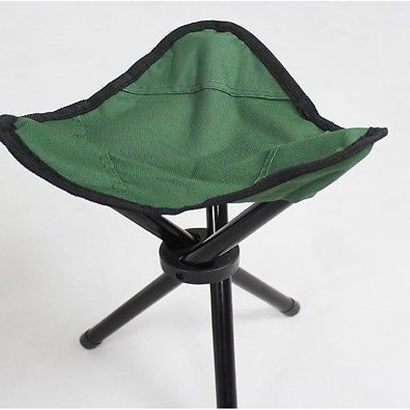 1Pc Outdoor Camping Tripod Folding Stool Chair Fishing Foldable Portable Fishing Mate Chair Height 30CM Folding Waterproof #45 outdoor traveling camping tripod folding stool chair foldable fishing chairs portable fishing mate fold metal chair