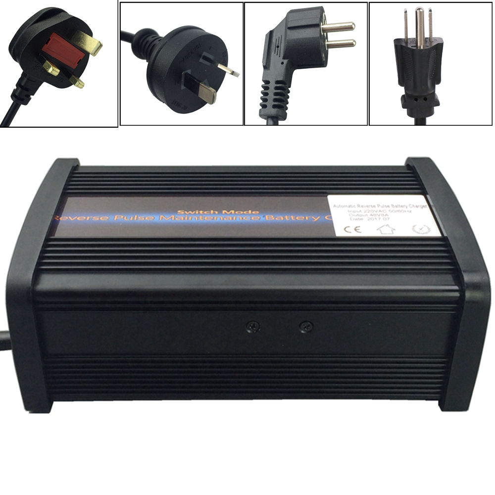 Powerful 12V 20A Car Battery Charger Battery Charger MCU Maintainer 7-stage smart Lead Acid Battery Charger Aluminum case 220v to dc 24v battery charger for lead acid battery