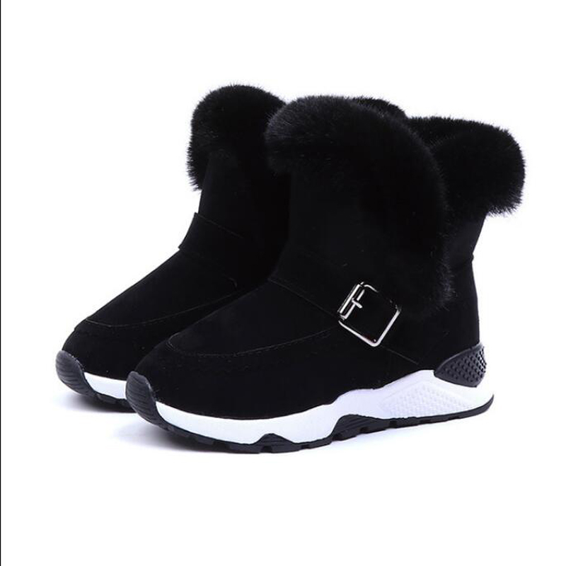 Children winter warm baby shoes fashion Waterproof children 39 s shoes girls boys boots perfect for kids accessories in Boots from Mother amp Kids