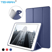 For iPad 2018 Case A1822 A1893 Ultra Slim Silicone Soft TPU Leather Stand Back Cover for iPad 2017 Case 9.7 inch for ipad 9 7 inch 2017 case a1822 a1823 slim crystal clear tpu silicone protective back cover for new ipad 9 7 2018 a1893 case