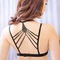 Сексуальная спинки Multi веревку Собрать высокое качество кубка общие push up bra top bralette бюстгальтеры для женщин soutien ущелье
