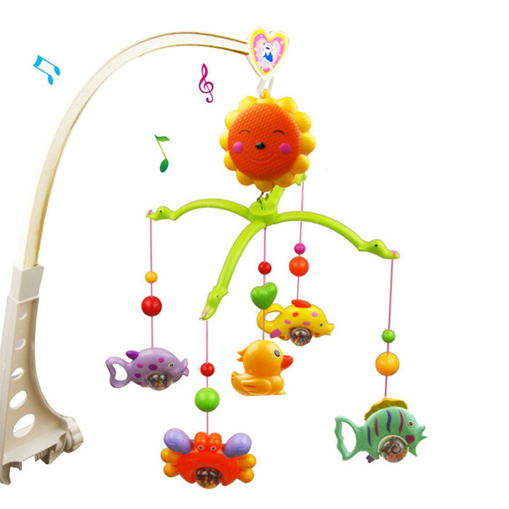 Baby bed holder - Diy Hanging Baby Crib Mobile Bed Bell Toy Holder Arm Bracket Without Music Box And Dolls