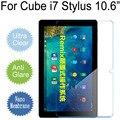 Para Cube i7 Stylus 10.6 Macio Limpar Glossy/Matte/Nano à prova de Explosão-Film Para Cube Tela i7 Não protetor de Vidro Temperado