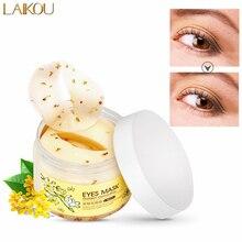 Gold Osmanthus Eye Mask Collagen Remove Dark Circles Eye Bags Anti-Aging Eye Care