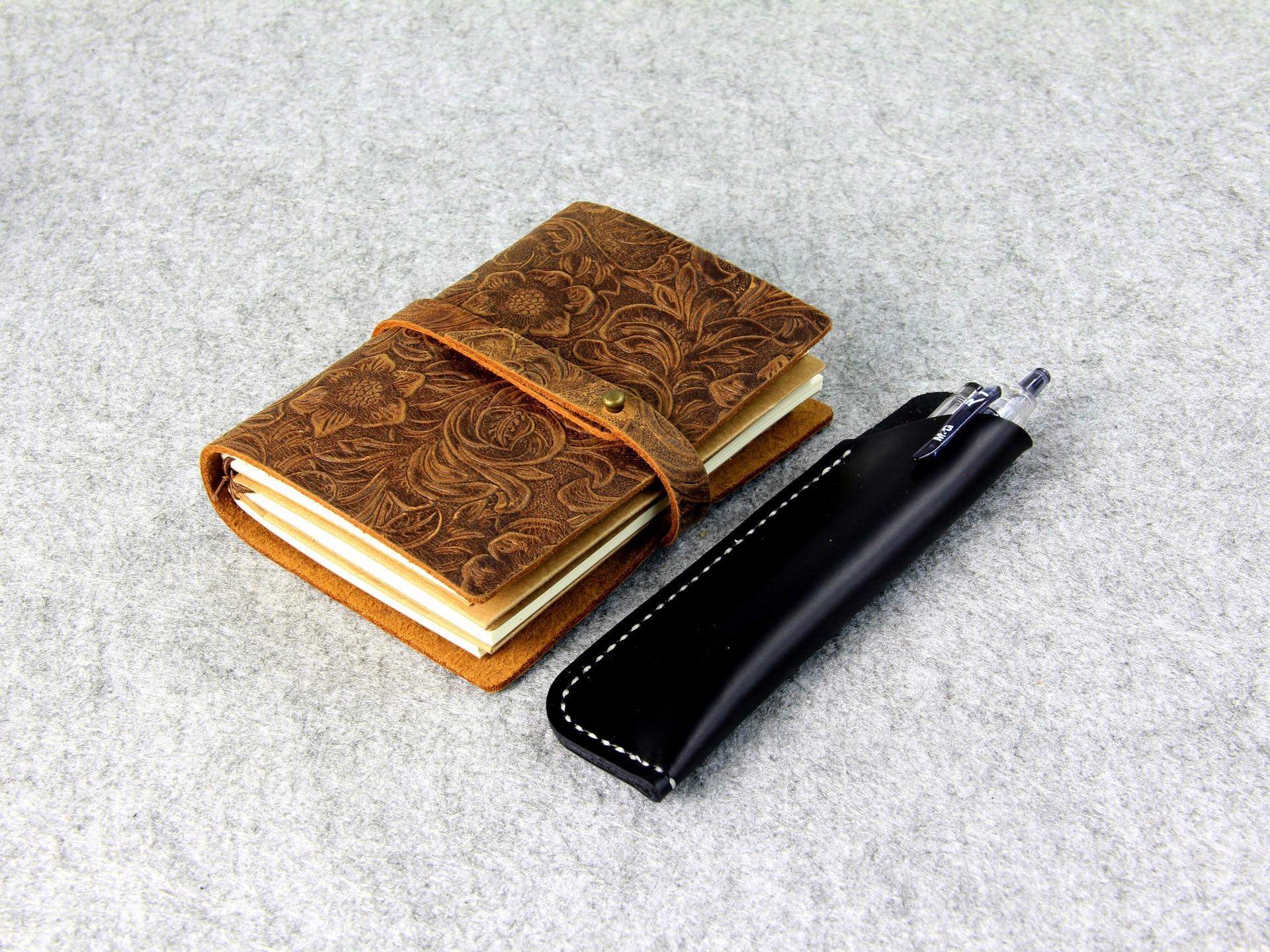Γνήσιο Δερμάτινο Notebook Ταξιδιώτες - Σημειωματάρια - Φωτογραφία 4