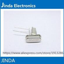 JINDA 1000 шт./лот Кварцевый Генератор 20 МГц 20 МГц 20 М Гц Мини Пассивный Кварцевый Резонатор HC-49S
