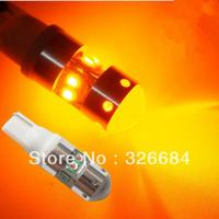2pcs 40W Amber T10 194 168 921 2825 W5W 8 CREE Chips LED Bright Car Light