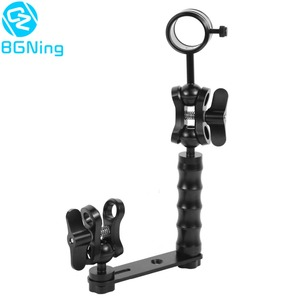 Image 1 - Diving Light Arm Handle Grip Ball Head Adapter Butterfly Clip Mount Bracket Frame Kit Underwater Sports DSLR Cameras Accessories